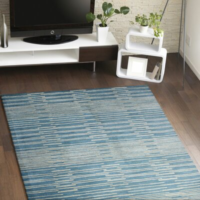 Dolores Rug in Blue Rug Size: 36 x 56
