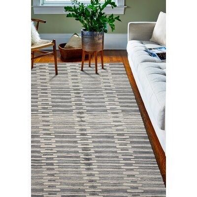 Dolores Rug in Grey Rug Size: 36 x 56