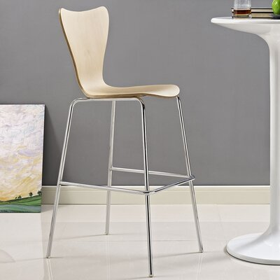 Strout 31 Bar Stool Finish: Natural