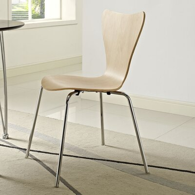 Strout Side Chair Finish: Natural