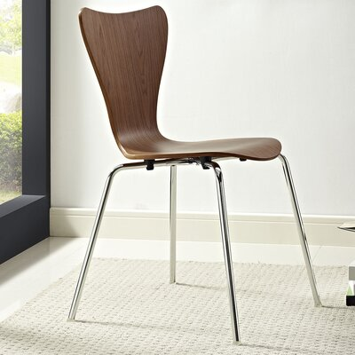 Strout Side Chair Finish: Walnut