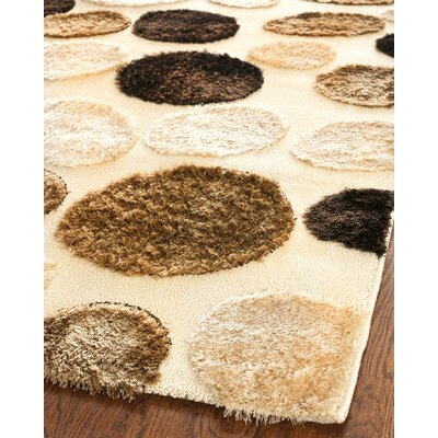 Stryker Cream/Multi Area Rug Rug Size: Rectangle 53 x 76