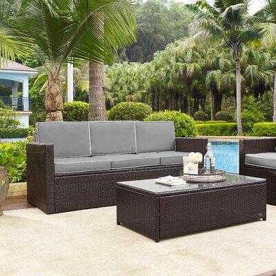 Crosson Sofa with Cushion Fabric: Tan