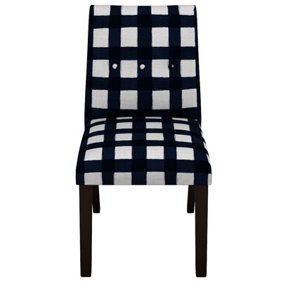Stultz Square Button Tapered Parsons Chair