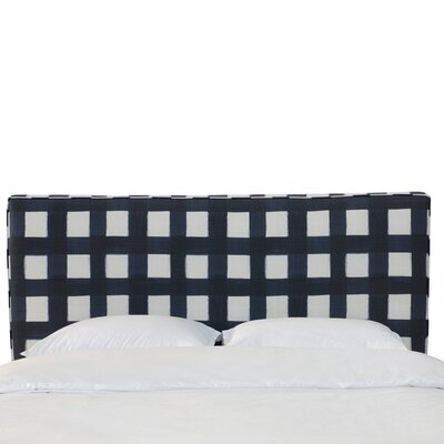 Sturgill Linen Upholstered Panel Headboard Size: Twin