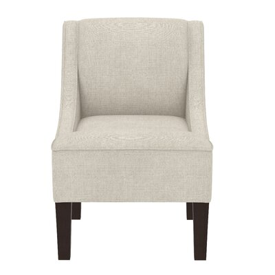 Summerall Swoop Slipper Chair Upholstery: Linen Talc