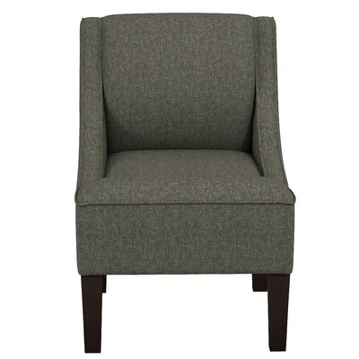 Summerall Swoop Slipper Chair Upholstery: Zuma Charcoal