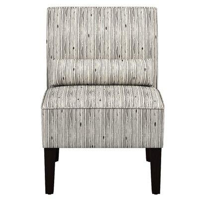 Summerlin Stripe Ink Slipper Chair