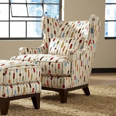 Sundberg Wingback Chair and Ottoman