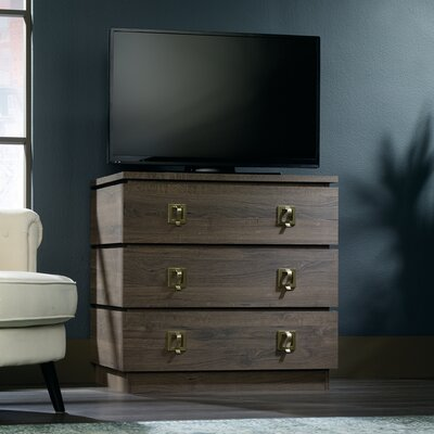 Verrill 3 Drawer Media Chest