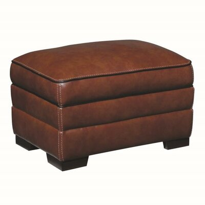 Winchester Leather Ottoman Upholstery: Chestnut