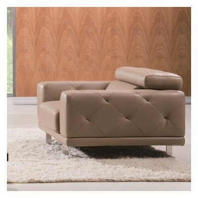Belmar Armchair Upholstery: Taupe