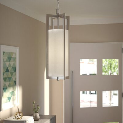 Allenhurst Transitional 1-Light Mini Pendant Finish: Antique Nickel