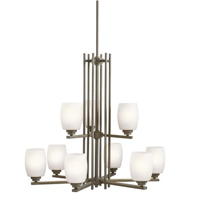Esmont 9-Light Shaded Chandelier