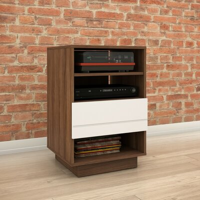 Vicknair Wood Audio Cabinet