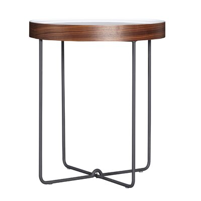 Vidales Round End Table