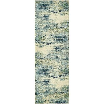Chenango Light Blue Area Rug Rug Size: Runner 2 2 x 6 7