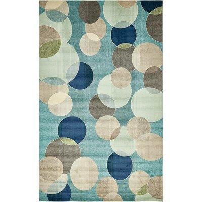 Chenango Geometric Blue Area Rug Rug Size: 10 6 x 16 5