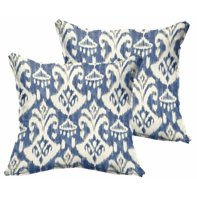 Pederson Indoor/Outdoor Square Throw Pillow Size: 22 H x 22 W x 6 D