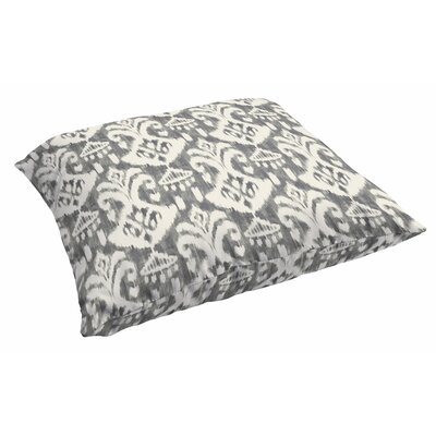 Peabody Outdoor Ikat Outdoor Floor Pillow
