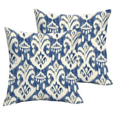 Pederson Indoor/Outdoor Throw Pillow Size: 18 H x 18 W x 5 D