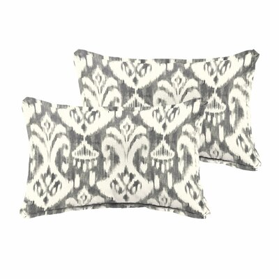 Peabody Flanged 2 Piece Pillow Set