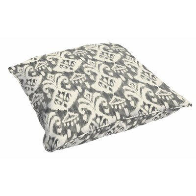 Peabody Ikat Outdoor Floor Pillow