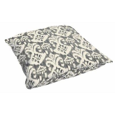 Peabody Ikat Outdoor Floor Pillow