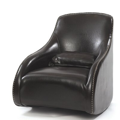 Villani Leather Club Chair