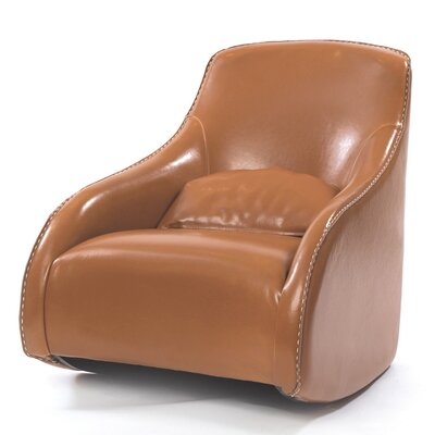 Villanueva Baseball Glove Leather Club Chair