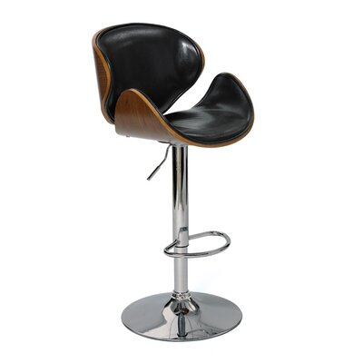 Fuston Adjustable Height Swivel Bar Stool