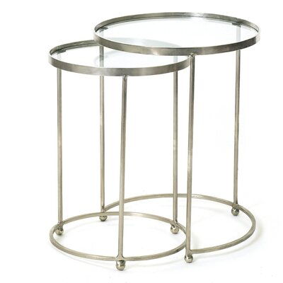 Baumgardner Circle 2 Piece Nesting Table Set