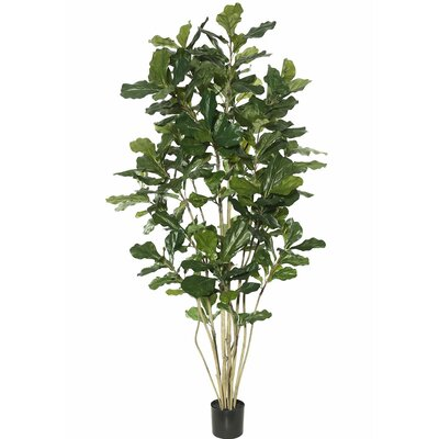 Artificial Potted Fiddle Foliage Tree in Pot