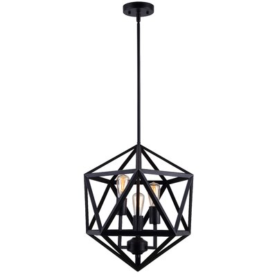 3-Light Geometric Pendant
