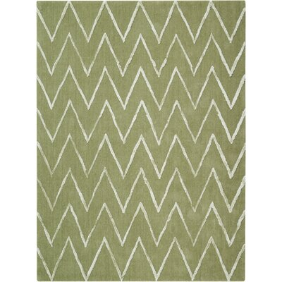 Courville Hand-Tufted Kiwi Area Rug Rug Size: 8 x 10