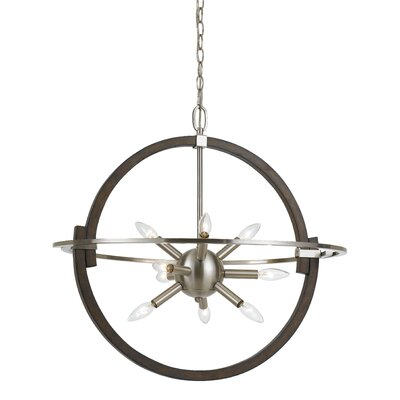 Carrera 9-Light Globe Pendant