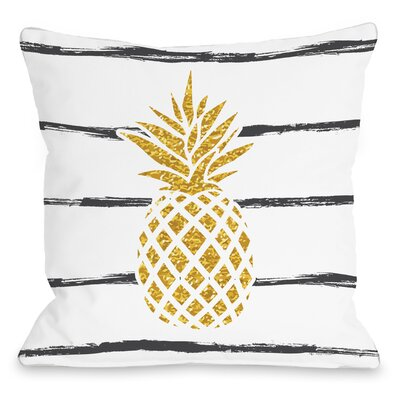 Bartels Throw Pillow Size: 16 H x 16 W
