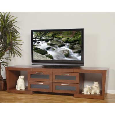 Ijaki 51-87 TV Stand Color: Walnut