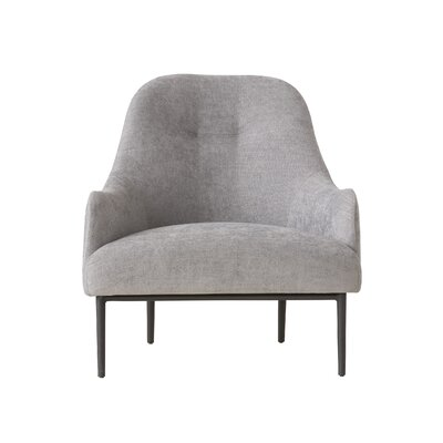 Campisi Arm Chair Upholstery: Gray