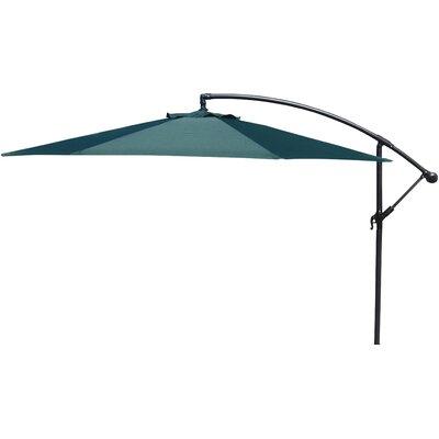 Trotman 10 Cantilever Umbrella Fabric: Green