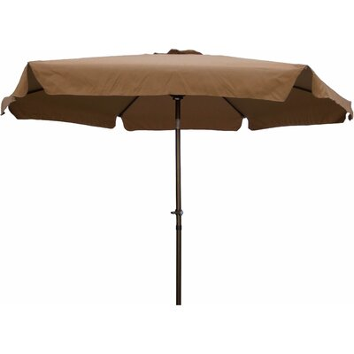 9 Hyperion Drape Umbrella Fabric: Chocolate