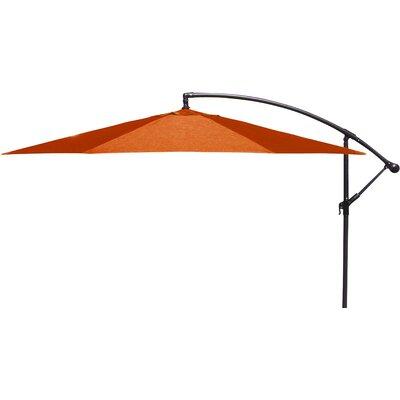 Trotman 10 Cantilever Umbrella Fabric: Orange