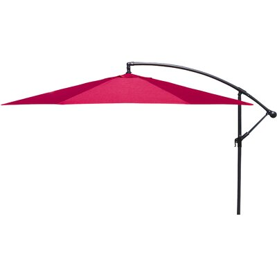 Trotman 10 Cantilever Umbrella Fabric: Red