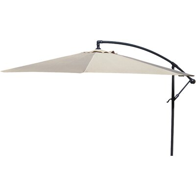 Trotman 10 Cantilever Umbrella Fabric: Natural
