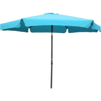 9 Hyperion Drape Umbrella Fabric: Aqua Blue