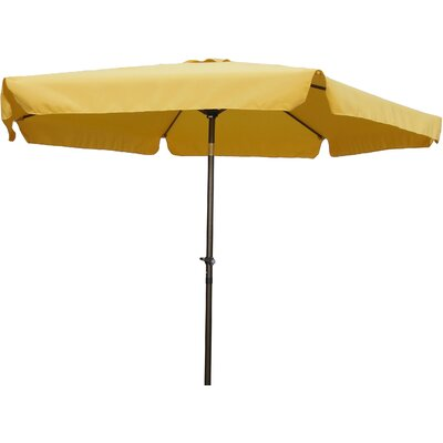 9 Hyperion Drape Umbrella Fabric: Lemon Yellow