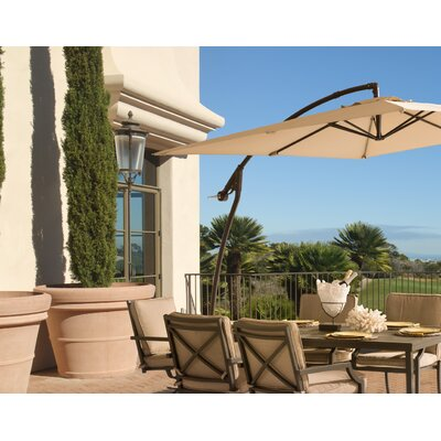 8' Square Cantilever Umbrella