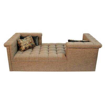 Capehart Chaise Lounge Body Fabric: Lena Slate