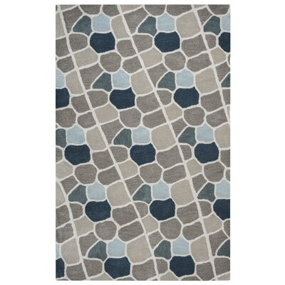 Galles Hand-Tufted Multi Area Rug Rug Size: 5 x 8