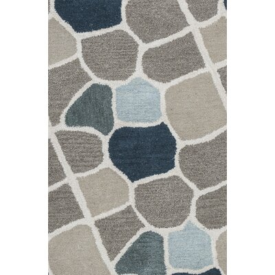 Galles Hand-Tufted Multi Area Rug Rug Size: Runner 26 x 8
